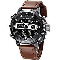 MEGALITH Orologio Uomo Orologi Militari Digitale Sportivo Cronografo LED Impermeabile Design Orologio Quadrante Grande…