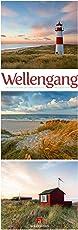 Wellengang - Meeres-Triplets 2019, Wandkalender im Hochformat (24x66 cm) - Landschaftskalender / Naturkalender mit Monatskalendarium