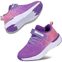 Kyopp Scarpe sportive per bambini atletici ragazzi e ragazze casual scarpe da corsa slip on sneakers bambini leggero…