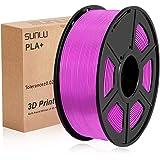 SUNLU PLA Plus Fucsia, filamento PLA Plus 1,75 mm, Precisione dimensionale con odore basso +/- 0,02 mm, Filamento per stampa