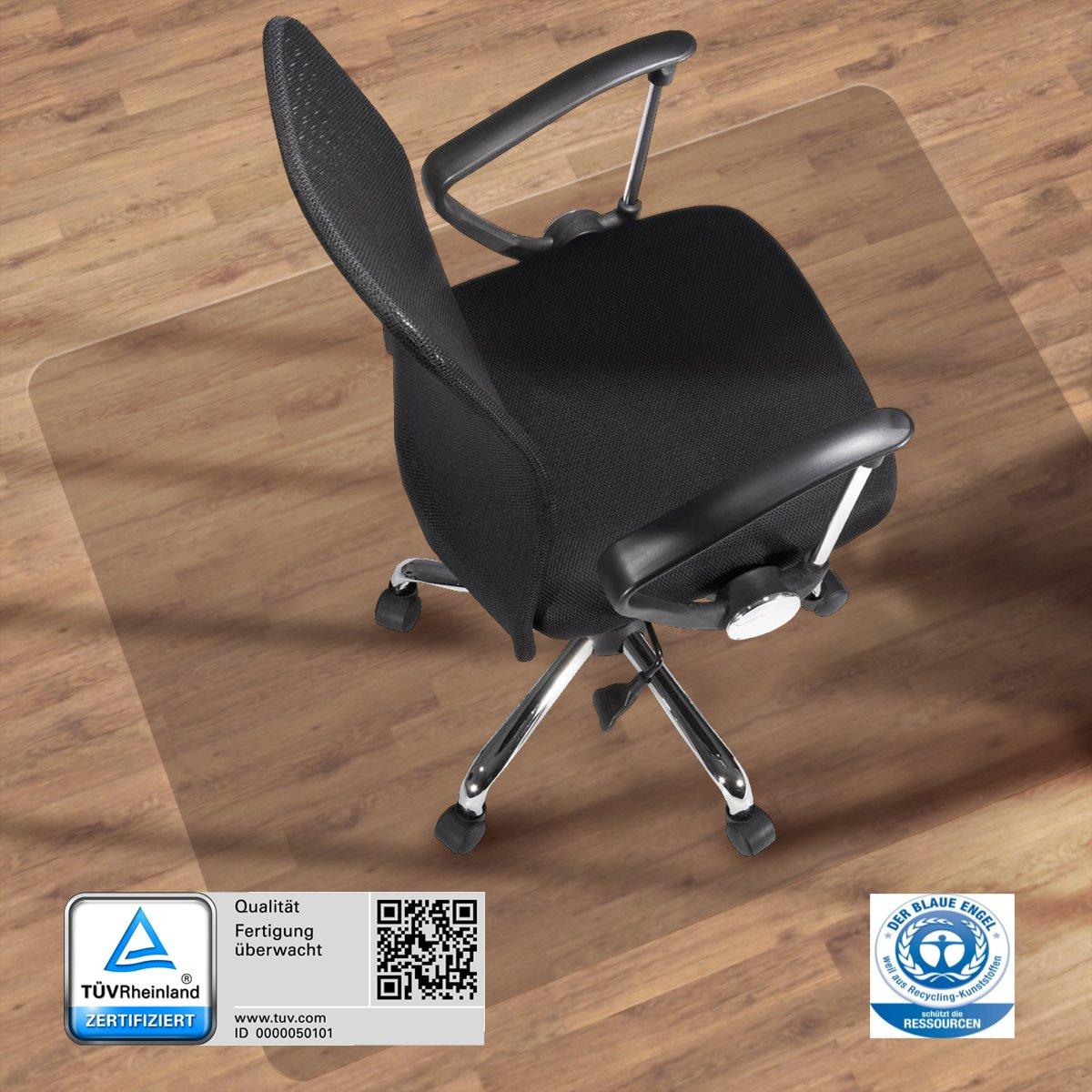 Ordentlich etm® Bodenschutzmatte - 120x90cm | TÜV und Blauer Engel  AQ99