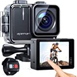 APEMAN Trawo Action Camera 4K WiFi Ultra HD 20MP Underwater Waterproof 40M Camcorder with 170 Degree Ultra-Wide Angle Advance