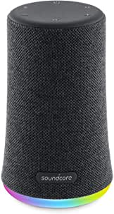 Cassa Bluetooth Soundcore Flare Mini, speaker bluetooth portatile, impermeabilità IPX7 per feste all'aria aperta, spettacolo di luci LED, suono a 360° e tecnologia BassUp™