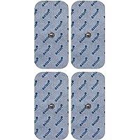 Électrodes pour électrostimulateurs BEURER SANITAS - 4 electrodes 10 x 5 cm - patch pads d'électrostimulation tens et ems - qualité axion