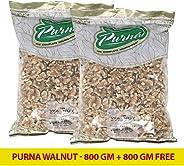 Purna Walnut - 800 gm (Pack of 2)