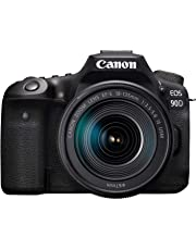 Canon EOS 90D Digital SLR Camera with 18-135 is USM Lens with 16GB Card