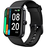 LIFEBEE Smart Watch For Women Men, 1.69'' Full Touch Fitness Watch, 14 Sport Modes 5ATM Running Watch With Heart Rate & Blood