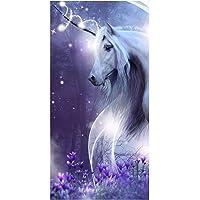 Jerry Fabrics Mystical Unicorn Beach Handtuch