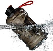 Readygogo 75OZ(2.2L) Large Sports Water Bottle Big Capacity | BPA Free | Flip Top Leak Proof Lid | 3 Colors