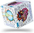 ZooBooKoo Educational Human Body Systems and Statistics Cubebook - Fold-Out Cube