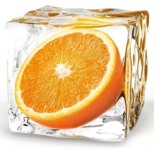 Eurographics DG-AU2101 Deco Glass Picture 20 x 20 cm Iced Lemon ...