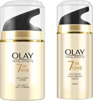 Olay Combo Pack Total Effects 7 in 1 (Day Cream, SPF15, 50g + Night Cream, 50g)
