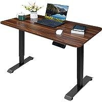 Homall Höhenverstellbarer Schreibtisch Elektrisch 110 cm Stufenlos Höhenverstellbarer Tisch mit 2-Fach-Tischplatte…