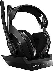ASTRO Gaming A50 draadloze headset en basisstation (4e generatie) met Dolby Audio/Dolby Atmos (compatibel met PS4, PC, Mac)