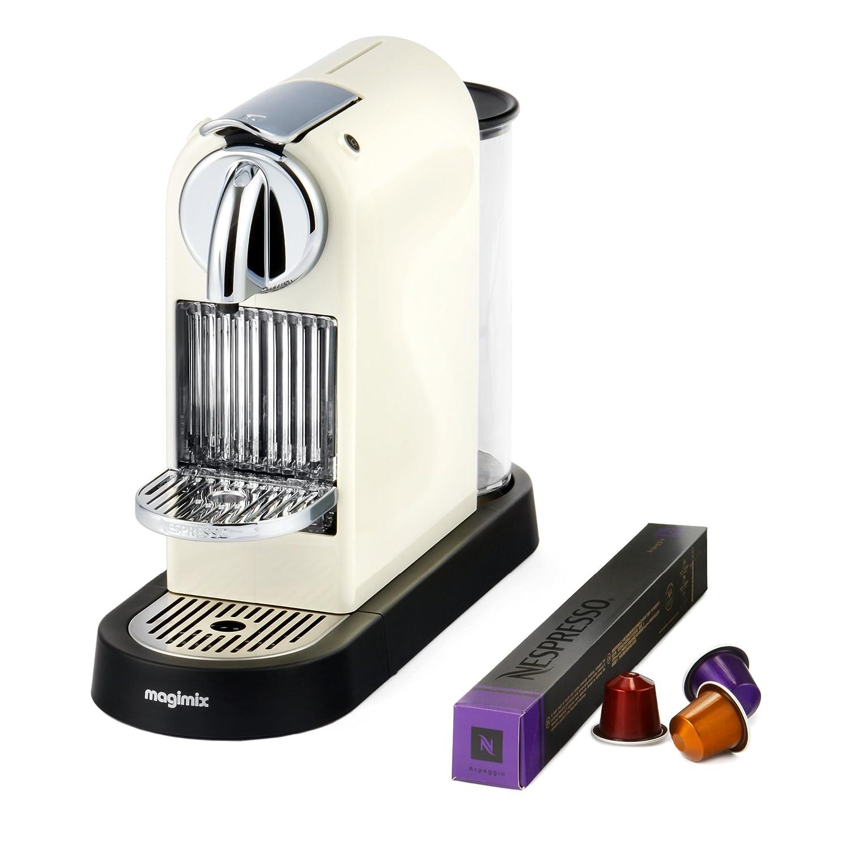 nespresso citiz limousine coffee machine black by magimix amazoncouk kitchen u0026 home