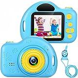 Cámara Digital para Niños Juguete para Niños Regalos Cámara De Vídeo A Prueba De Choques Pantalla HD de 2 Pulgadas 1080P Rega