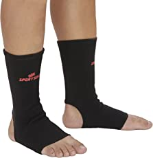 SportSoul Premium Compression Ankle Support- (Pack of 2)