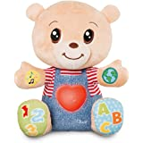 Chicco Teddy l'Ourson des Emotions Ours, Peluche Interactive, Bilingue Français/Anglais, Peluche Éducative, Jouet pour Bébés