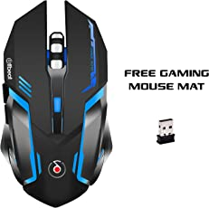 Offbeat - RIPJAW - 2.4Ghz Rechargable Wireless Gaming Mouse - 7D Buttons