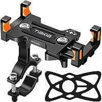 Tiakia Supporto Telefono Bicicletta, Supporto Bici Smartphone in Metallo, Porta Cellulare Bici Universale per 4.7-7.2…