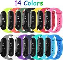 Mardozon 14 Colori Cinturino Xiaomi Mi Band 3 / Mi Band 4 Orologio da Polso di Ricambio per Smartwatch Mi Band 4...