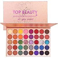 40 colori Palette di ombretti lucidi Ombretto in polvere Portatile Shimmer Glitter Matte Eye Trucco professionale…