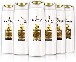 Pantene Pro-V Shampoo Rigenera & Protegge, con Nutrienti, Pacco da 6 x 250 ml