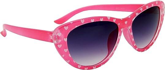 Els Kids Sunglass, Cat Eye Gradient Lens Shades-A-35218-221-DPNK-BL-S
