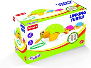 Giggles Linking Turtle, Multi Color