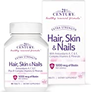 21st Century Extra Strength For Hair, Skin & Nails - 90 Tablets