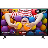 TCL 32P500K 32-Inch LED Smart Android TV HD, HDR, Micro Dimming, Netflix, YouTube, DVB Compatible, Dolby Audio, Bluetooth, Wi
