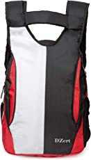 Stylish New Casual Backpack | Laptop Bag | College Bag | School Bag for Boys, Girls(21 L) BLK-WHT