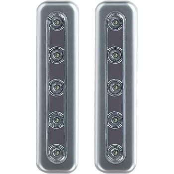 brite liteware led wall lights wireless stick anywhere battery
