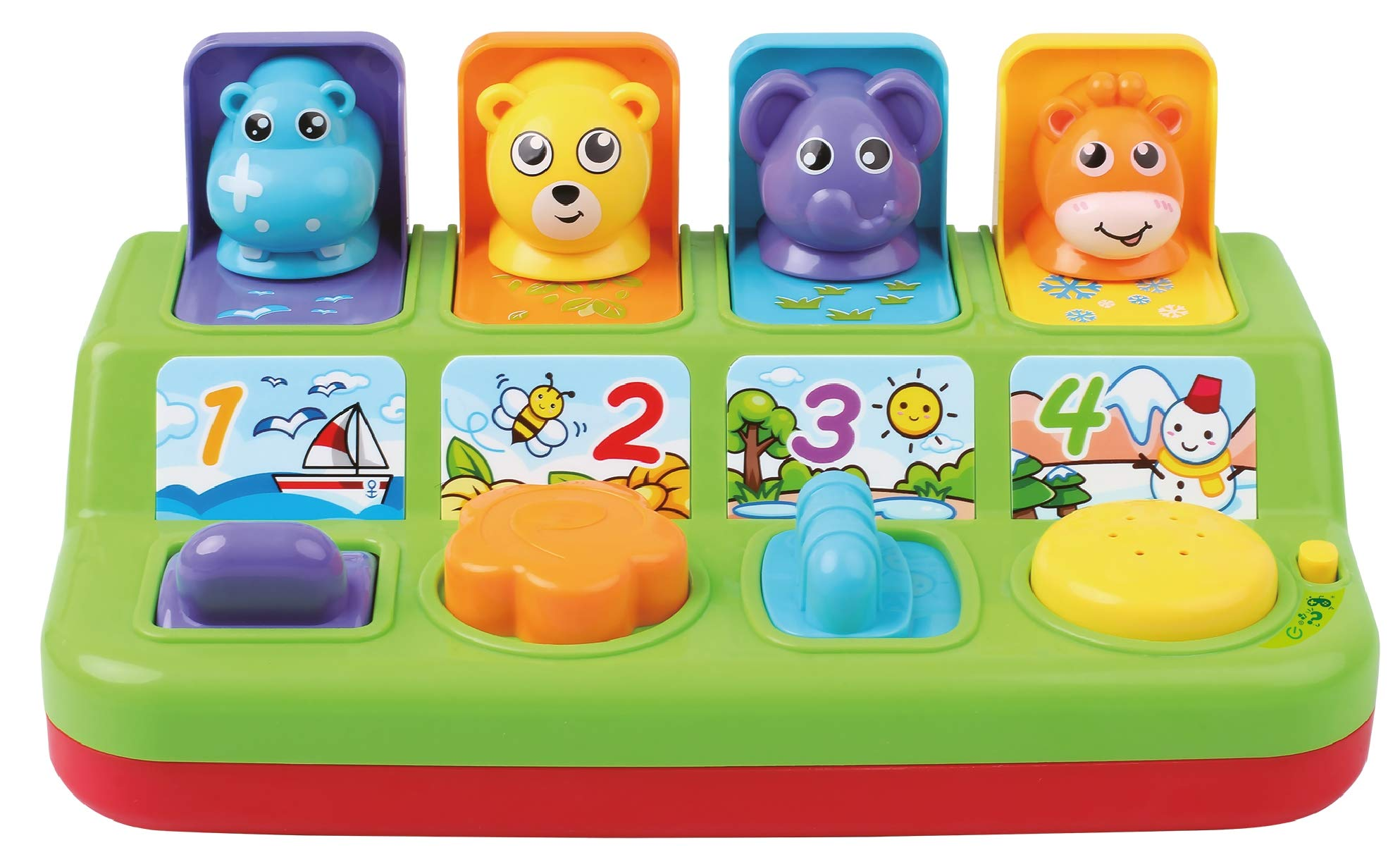Toys For 4 And Up : Tg interactive pop up animals toy for toddlers
