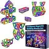 Desire Deluxe Bloques de Construcción Magnéticos Infantiles - Juego Creativo Educativo de 40 Piezas de Formas Geométricas con