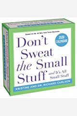 Don't Sweat the Small Stuff... 2020 Day-to-Day Calendar Calendar
