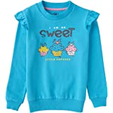 Cub McPaws Girls Puff Sleeves Sweatshirt | 4-12 Years|