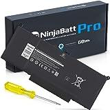 NinjaBatt Pro-batteri F3YGT för Dell Latitude E7480 E7490 E7280 12 7000 7280 7290 13 7000 7380 7390 14 7000 7480 7490 2X39G 4