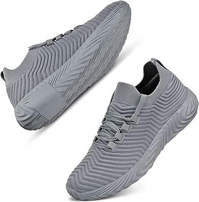 Scarpe da Ginnastica da Uomo Lässig Fitness Tennis Walking Scarpe da Corsa Traspiranti