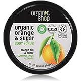 Organic Shop Body Scrub Natural Sicilian Orange and Sugar 250 ml