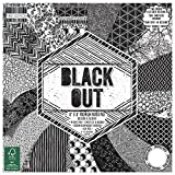 """First Edition Black Out Premium Paper Pad 8""""x8"""" 48 Sheets (FSC)"""