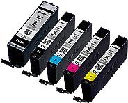 5 ORIGINALE Setup Canon Cartucce per stampante PGI-570/CLI-571 PER MG5750 MG5751 MG5752 MG5753 MG6850 MG6851 MG6852 MG6853 MG