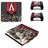 Apex Skin Sticker for Sony Playstation 4 (Slim) and Remote Controllers