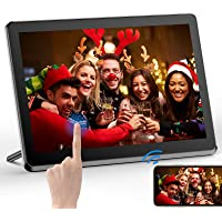 Digital Picture Frame WiFi 10 Inch Digital Photo Frame Full HD 1920x1080 IPS Touch Screen Display, Auto-Rotate, Share…