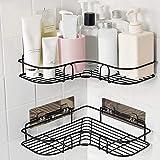 Bathroom Corner Shower Caddy,Shower Organizer Storage,No Drilling Shower Shelves Shower Racks with Rustproof Stainless Steel