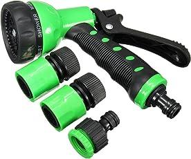 Toku High Pressure 8 Pattern Trigger Hand Sprayer Car/Bike/Gardening Wash Water Hose Nozzle Spray Gun