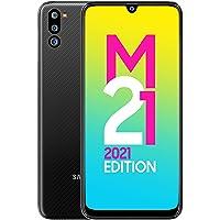 Samsung Galaxy M21 2021 Edition (Charcoal Black , 4GB RAM, 64GB Storage) | FHD+ sAMOLED | 6 Months Free Screen…