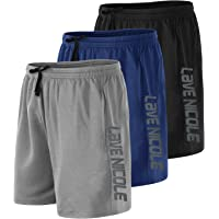 """Suyye Men's 7"""" Workout Running Shorts Athletic Shorts with Pockets"""