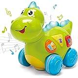 CubicFun Dinosaurios Juguetes Bebes 1 año Juguetes Musicales con Luz Juguetes Cognitivos Educativos Tempranos Juguetes Bebe 6