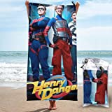 GOODSTHING Toalla Sports & Travel &Beach Towel Danger TV Show of Henry 4 Super Absorbent Ultra Compact Towel Suitable For Cam